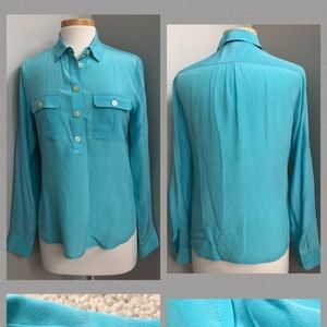 Banana Republic 100% Silk Blouse